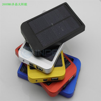 Spot wholesale Solar Charger 0.7W polycrystalline solar power output by 2600 mA