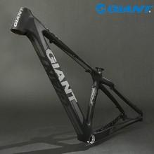 "2012 GIANT XTC Composite 29ER-FR Carbon 29"" 29ER Original MTB Mountain Bike Bicycle Parts Frame Size 16""(S) Matte Black(China (Mainland))"