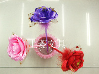 Office Stationery Feather technology pen rose gift pen ballpoint pen