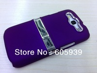 online sale Polychrome plating rack phone case promotion silicon cover for samsung i9300, give gift