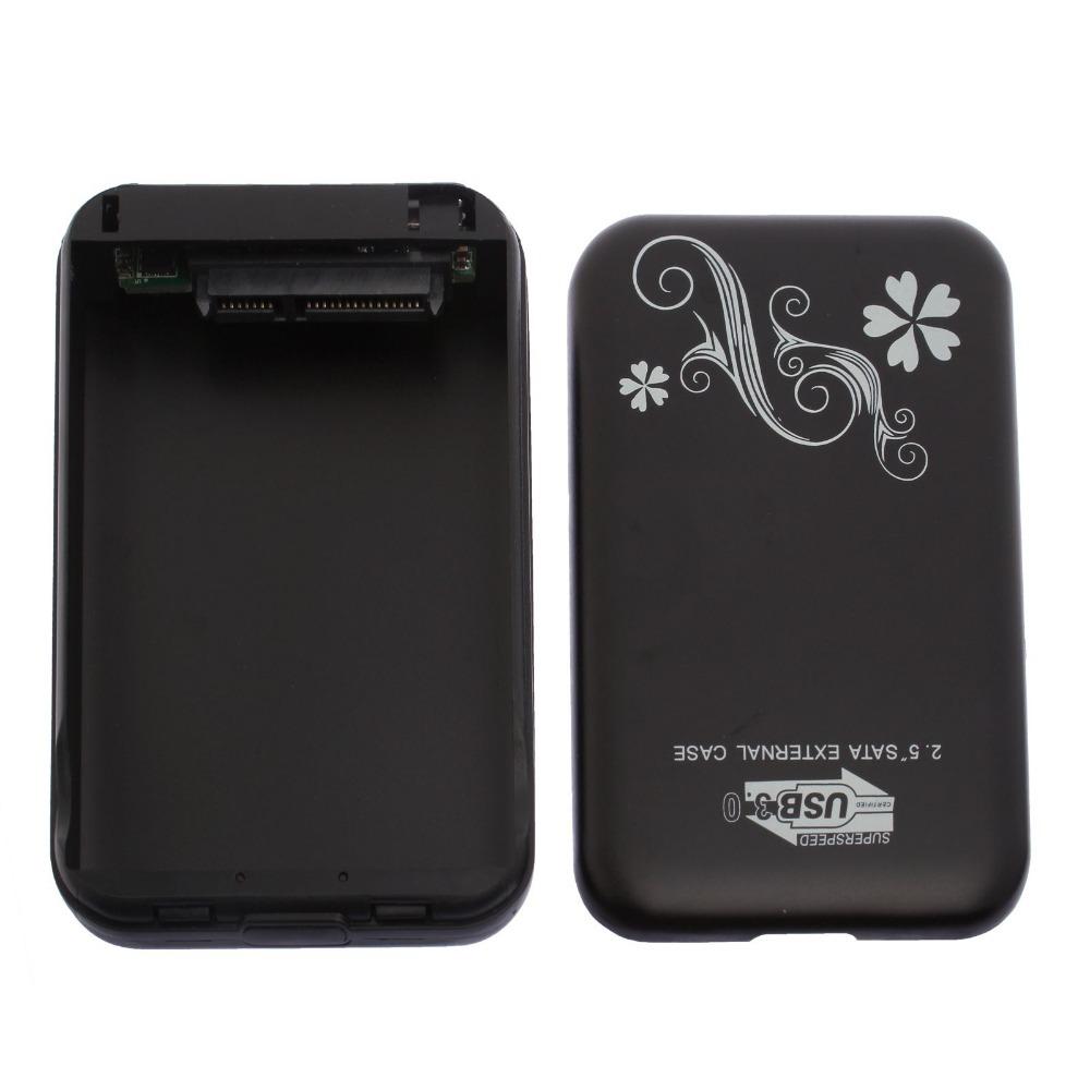 Black new USB 3.0 2.5 inch HDD Case 6Gps Hard Drive Disk SATA 2TB External 83012(China (Mainland))