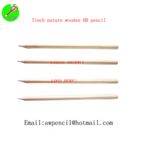Customized  nature wood pencil with logo