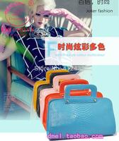 Fashion women's bag crocodile pattern genuine leather women's handbag 2014 female shoulder bag handbag cross-body japanned