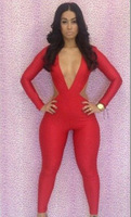 2014 new Fashion women clubwear pant evening pants lady party dress backless hot sale sexy jumpsuit bodycon jumpsuits