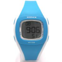 [Free Shipping] Xonix Fashion Digital ladies'  watch childrens' watch 100 meters waterproof HL series Since 1978
