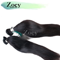 Hair Brazil Hair Weaves Natural Straight Hair 3PCS Lot Double Weft Ensure Stable Weft No Shed Can Restyled