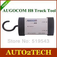 DHL Free!2013 Hot Heavy Duty Truck Diagnostic Tool AUGOCOM H8 + Software Diesel Truck Interface Same Function as Nexiq USB LINK