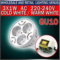 Discounted prices 5pcs/lot led 3 w warm/cold white spot E27 B22 GU10 GU5.3 E14 MR16 base Energy Saving Mini led spotlights
