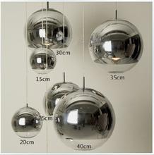 wholesale glass ball pendant light