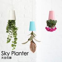 2014 New Hot Sky Planter Hanging Flower Pot Upside-Down Plant Pot Home Decoration