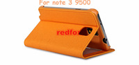 For Samsung Note 3 9500 Original S View Window Sleep Function Flip Leather Back Cover Case From Redfox