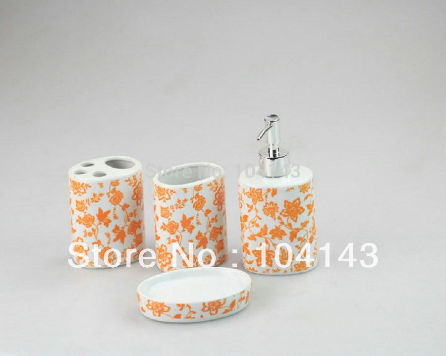 Badkamer accessoires oranje badkamer ontwerp for Interieur accessoires groothandel