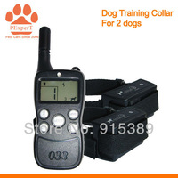 5PCS/LOT Free Shipping  2014 New Rechargeable 300M Training Collar for 2 dogs  033B-5