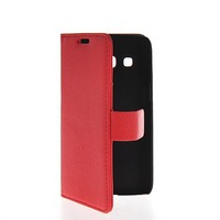 Litchi Skin Flip Wallet Card Pouch Stand Leather Case Cover For Samsung Galaxy Express 2 II G3815