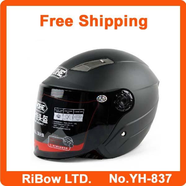 Wholesale price Helmet full face motorcycle women winter summer style helmet motocross racing free shipping YH-837(China (Mainland))