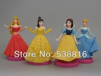 Anime PVC Princess Snow White And The Seven Dwarfs 13cm Large Size Figures Toy Girl Gift Wholesale