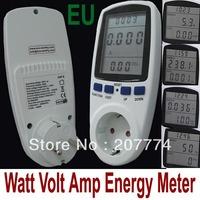 230V 16A High Quality EU Plug LCD Digital Energy Meter Power Meter,Wattmeter ,Watt Voltage meter,amper meter monitor