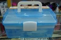 Nail Art Toiletry Kit Cosmetic Storage Box Large Tool Box Nail Art box Storage Box