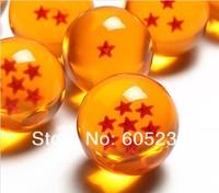 1Set (7Pieces) 4CM Dragonballs Replica / Dragon Ball Z Replica Ball 1-7Star