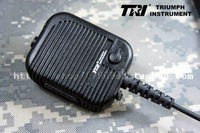 Tri prc-152 multifunctional tactical microphone in hand thales 148 black