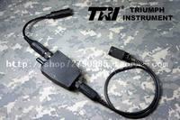 Tri g-switch ii tactical ptt walkie talkie waterproof switch prc-152 148