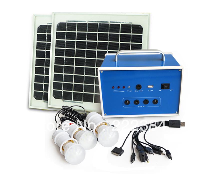 20w 12V solar home system solar back up power(China (Mainland))