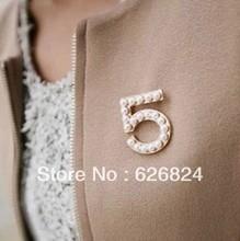 cheap pearl brooch