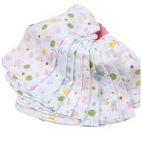 15pieces/lot 31x31cm large 100% cotton Baby Gauze Muslin Washcloth Baby Wipe Sweat Absorbing Towel,soft Handkerchief