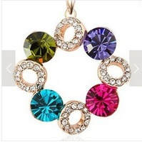 Good quality New Fashion jewelry romantic pendant necklace for women ladies' lovers' gift wholesale