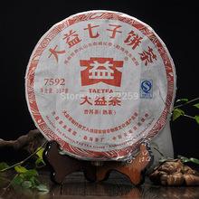 [DIDA TEA] 2011 yr Yunnan Menghai Dayi 7592 101 Chi Tse Beeng Ripe Shu Puer Pu Er Tea,100% Genuine Quality Certified 357g cake