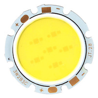 Wholesale - 3W 5W 7W 10W Round COB led bead chips for down light ceiling lamp white/warm white DC 12V