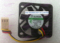SUNON  4010 fan 40*40*10mm  12V 1.8W KDE1204PFVX  for switch  3wires