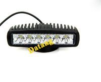"Hot sales 2014 New 6"" 18W Cree LED Work Light BAR Spot Beam Driving Offroad 4x4 4WD Save ON 10W 15W"