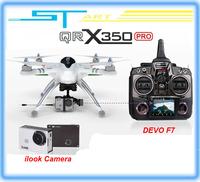 2014 Upgrade version WALKERA QR X350 Pro GPS Drone 6CH Brushless UFO DEVO F7 Transmitter RC Helicopter quadcopter supernova sale