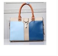 Y word buckle handbag bag large bag retro hit color furly candy handbags Y DESIGUAL