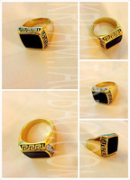 Free shipping Golden pharaoh 01 totem ring