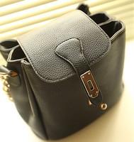2014 Korean New handbags Retro Chain Women shoulder bag , messenger bag Europe and America ,stylish bucket bag Messenger