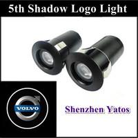 Volvo 5Th car projector logo lights & door Ghost shadow light /3D logo LED welcome lighting