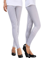 Spring 2014 New Fashion pants capris thin models personalized ladies wide thin vertical stripes leggings lululemon for women