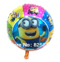 New Arrival Hot sale!!!!!Free shipping 50pcs/lot 18 inch balloon foil balloon party balloon cartoon balloonMinions balloon