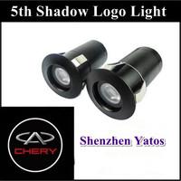 Infiniti/Chery 7W 5Th led projector for Chevrolet logo Ghost shadow light ! laser logo door light/ led welcome light