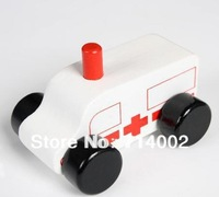 N07 New arrival Wooden Car,Ambulance