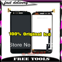 Original For Asus Padfone 2 II A68 LCD Display +Touch screen digitizer assembly black VIA DHL/EMS