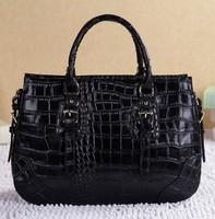 spring of 2014 new high-grade embossed crocodile embossed leather women leather handbags hit color handbags designers brand bags