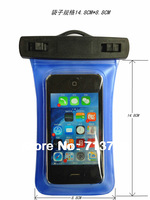 Free shipping Waterproof Case Underwater Pouch housing For Samsung  S3 S4 For iphone 4 4S 5 5S 5C  xiami Nokia ect
