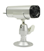 "Free Shipping 2.4G Wireless 1/3"" CMOS Built in Battery Nightvision Rechargeable CCTV Camera"
