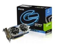 New GALAXY GTX 750 NVIDIA Maxwell 1GB GDDR5 128bit 512SP DirectX 11.2 DisplayPort HDMI DVI Desktop Graphics Card