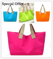 2014 Spring New Arrival Nelon design Big shoulder bags summer beach bags handbag large casual women's candy color shopping bag