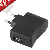 AC EU Charger Power Adapter to USB EU for Mobile Phone MP4 MP3 Camera
