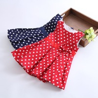 2014 brand girl dress,lovely bowknot children dress,tutu sleeveless princess kid dress,children clothing for dancing party